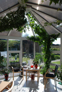 Vinterhager, pavilionger, orangerier og drivhus fra NORDIC GARDEN BUILDINGS